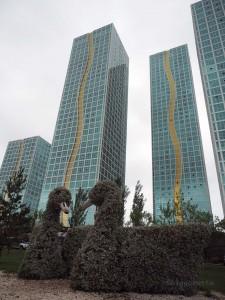 Modernes Bauen