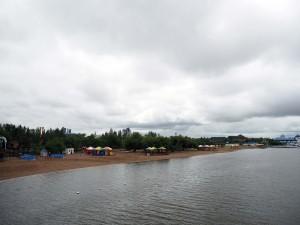 Schwimmbad am Ischim