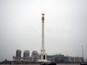 Am Palast der Unabhängigkeit