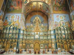 In der Mariä-Entschlafens-Kathedrale