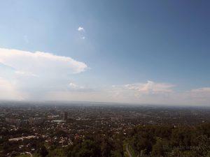 Almaty vom Kök Töbe aus