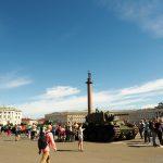 Panzerausstellung auf dem Schlossplatz